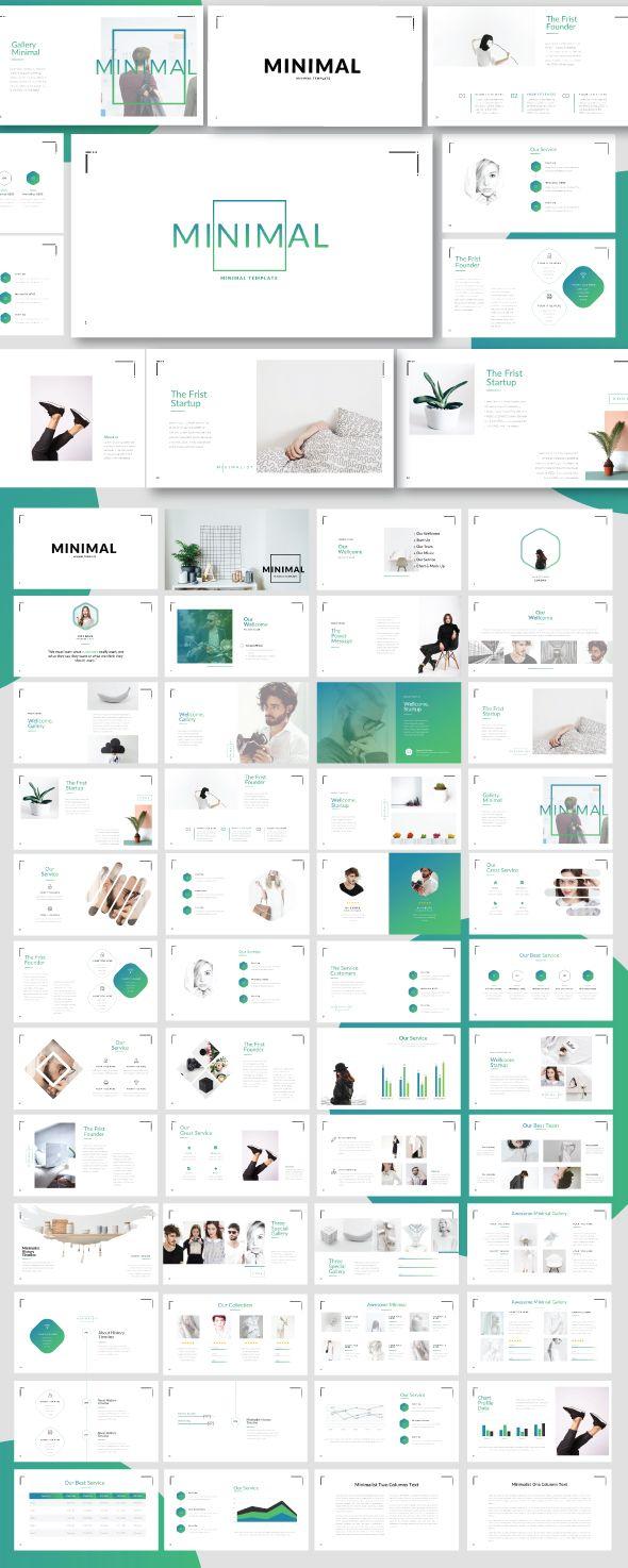 #Minimal #Minimalist #Template – #Business #PowerPoint Templates. Minimal Minima…