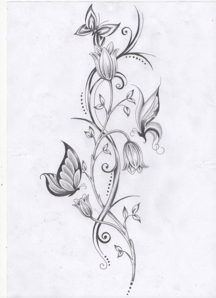40 coole Fuß Tattoo Vorlagen   – ADULT COLORING PAGES