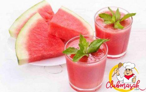 Resep Smoothie Semangka, Resep Minuman Untuk Berbuka Puasa, Club Masak