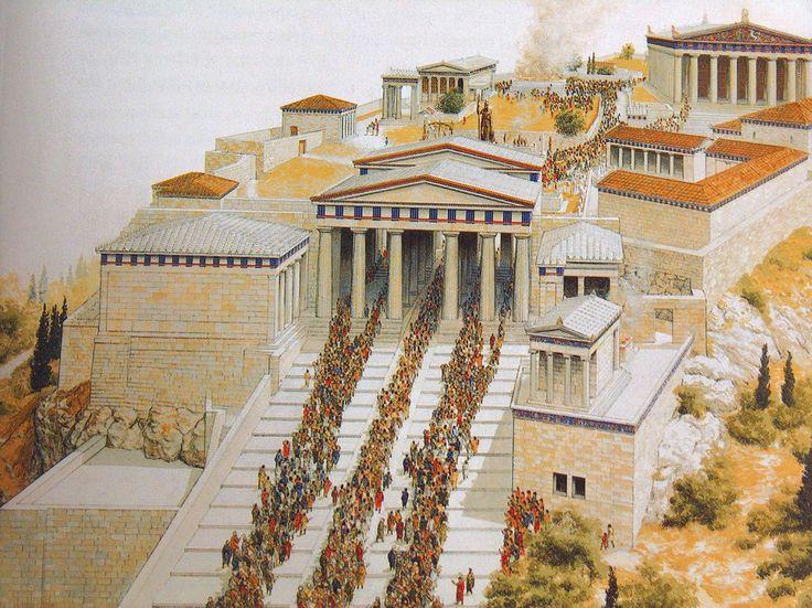 Ἔρρωσο: Το μυστήριο των Προπυλαίων του Μνησικλή στην αθηναϊκή Ακρόπολη