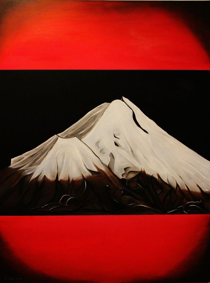 Taranaki (Oil on Canvas) $1500