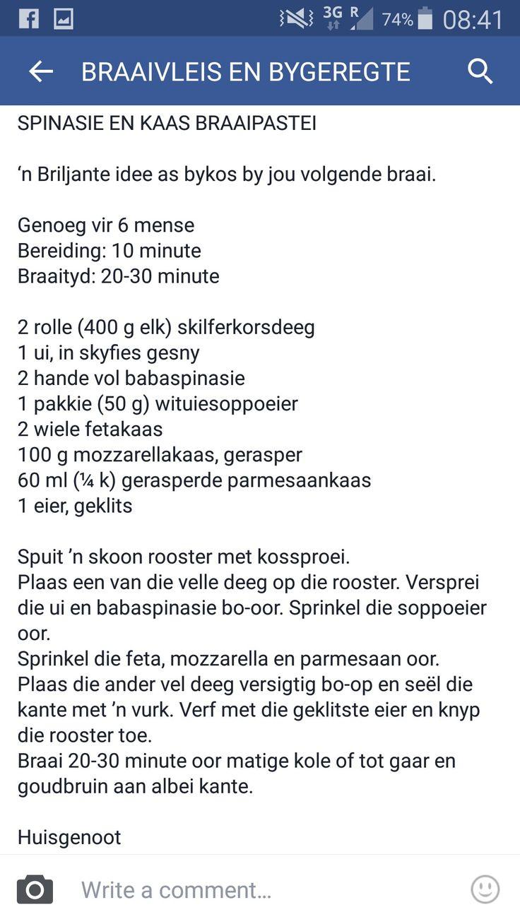 Spinasie braaitert