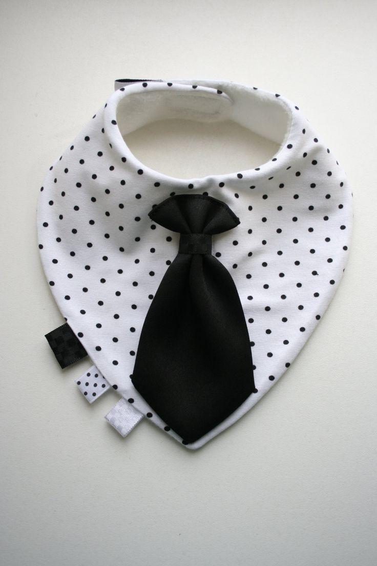 Baby dribbeln Lätzchen abnehmbare Krawatte / beugen von BizBizBaby