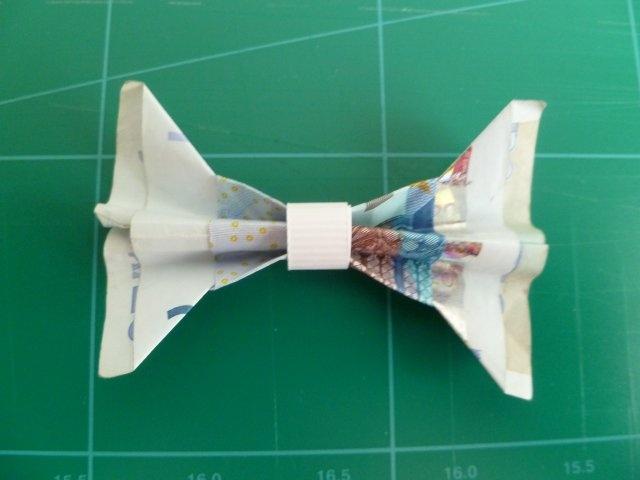 Marly Design: geld strik / money bow