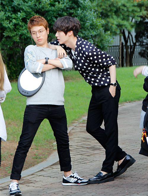 Park Jung Min + Ahn Jae Hyun