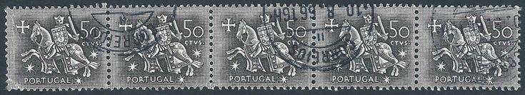 Portugal, 1953 – Sello del Rey Dionisio I