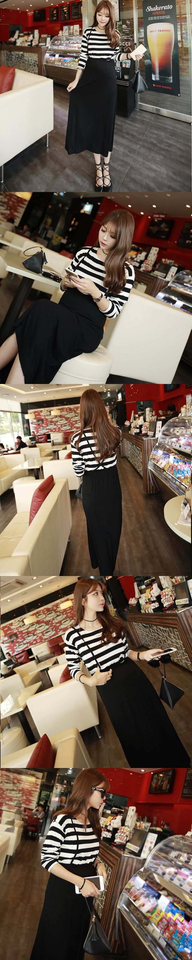 Maternity Clothes Spring Autumn Vestidos Pregnant Women Maternity Dress Long Sleeve Cotton Black Causual Long Dress Lactation