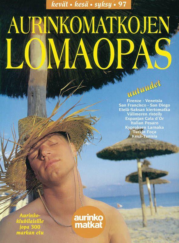 #Aurinkomatkat lomaopas kevät, kesä, syksy 1997 #retro