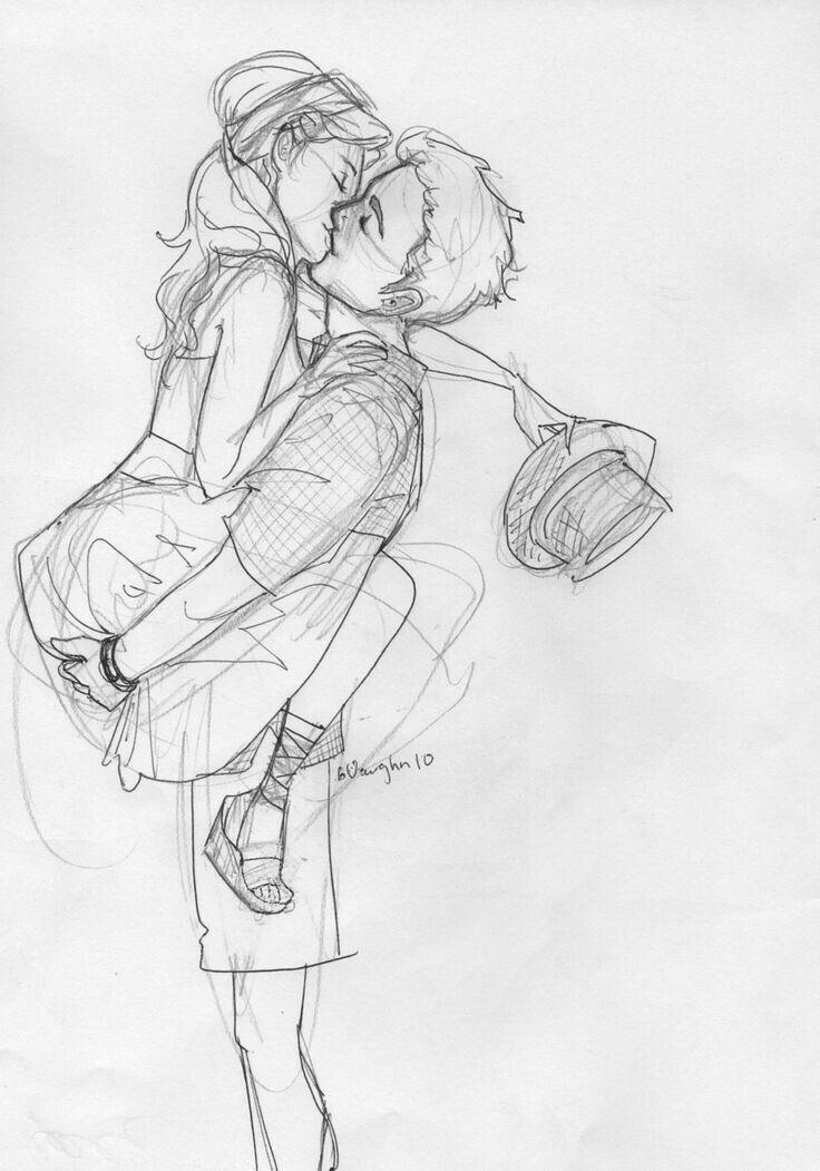 Картинки для срисовки пары влюбленных