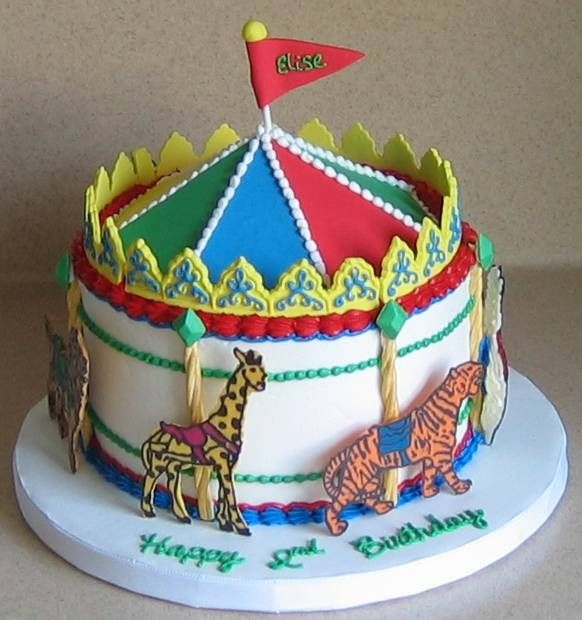 Cake Decorating Carousel : 57 best images about Carousel Cakes on Pinterest Circus ...