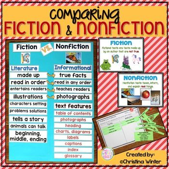 comparing narrative in fiction and nonfiction Anyway, comparing the difficulty of writing fiction and non-fiction is sort of like   with non-fiction, you need to develop a compelling narrative about someone or.