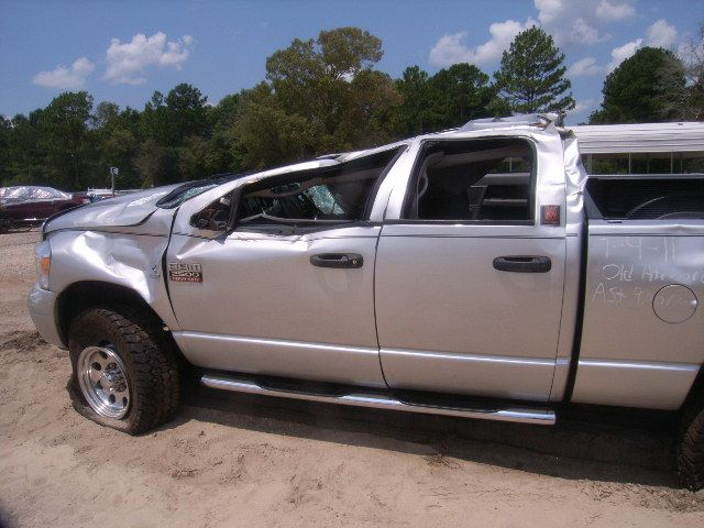 Toyota Tacoma Lifted >> wrecked lifted silver dodge ram 2500 truck | Dodge Ram ...