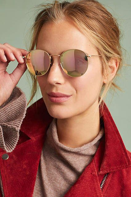 4fd3ec20e55 Anthropologie Coronado Round Sunglasses - love these sunnies! Would wear  them in Denver along with hiking boots to climb the Rockies! Affiliate link.