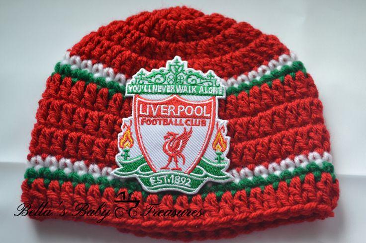 Liverpool Soccer Team Beanie by BellasBabyTreasures on Etsy