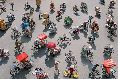 Fragments of Hanoi | A birds eye view of the various forms o… | Flickr
