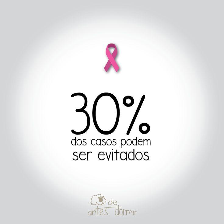 Estima-se que 30% dos casos de câncer de mama possam ser evitados quando são adotadas práticas saudáveis como: - Praticar atividade física; - Alimentar-se de forma saudável; - Manter o peso corporal adequado; - Evitar o consumo de bebidas alcoólicas; - Amamentar #AntesDeDormir #OutubroRosa