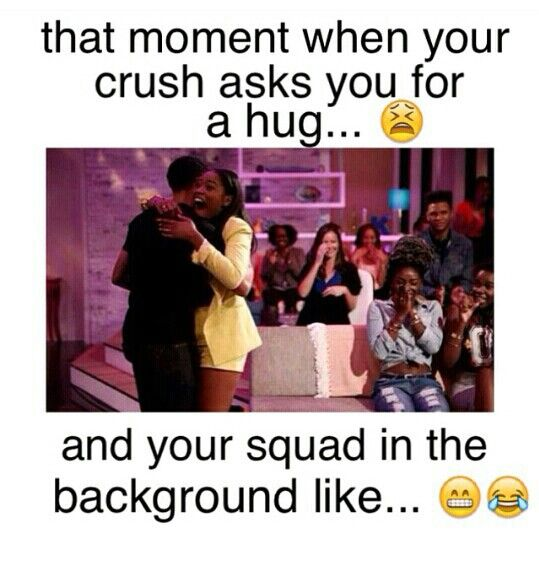 me except for a hardly crush but when i do..