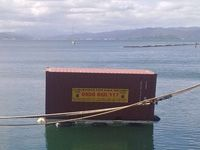 Container installation in harbour