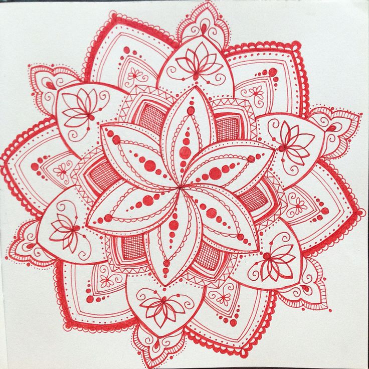 #mandala  #flower #pattern #swirls #colouring #drawing #ink #inky_miya  #girl…
