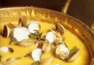 Xarém (ou Xerém) Portugal Recettes culinaires du Algarve Portugal, cuisine traditionnelle de Algarve Portugal, gastronomie du Algarve Portugal