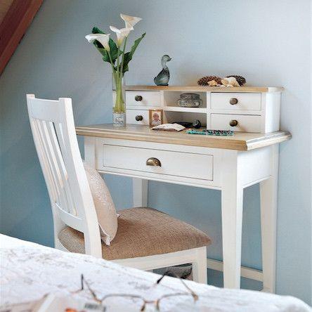 Small White Office Desk