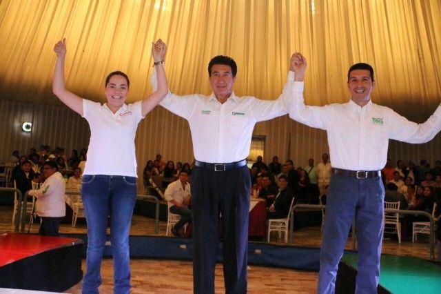 En tercer lugar los candidatos a diputados del PRI en Xalapa