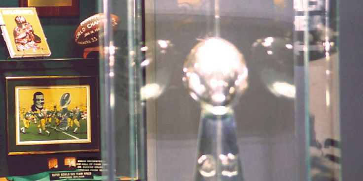 Lombardi Trophy at the Packers Hall of Fame, Green Bay