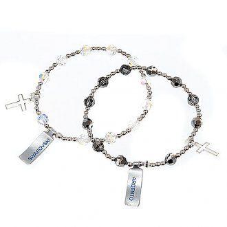 Bracciale argento braccialetto swarovski | vendita online su HOLYART