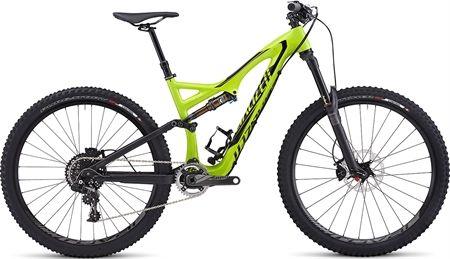 Picture of Specialized Stumpjumper FSR Expert Evo Carbon 650b Mountain Bike 2015