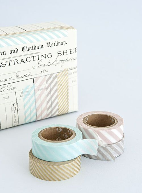 Tea For Joy: Masking tape madness