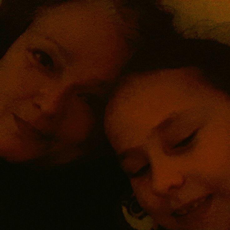 Jan.13 2015 pijn-dag dus lekker vroeg samen met het jongste kind naar bed #365grateful
