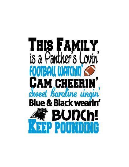 Charlotte Panthers, art print, Panthers fan, football art, man cave print, Super Bowl art