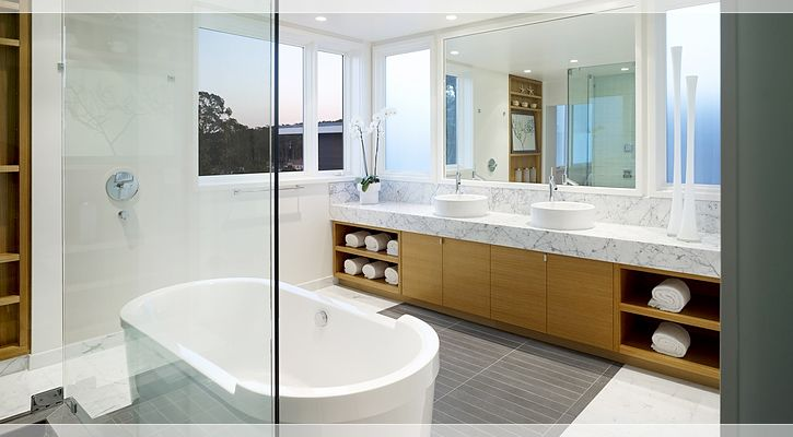 John Maniscalco Architecture | Work | Pacific Avenue Bathroom vanity idea