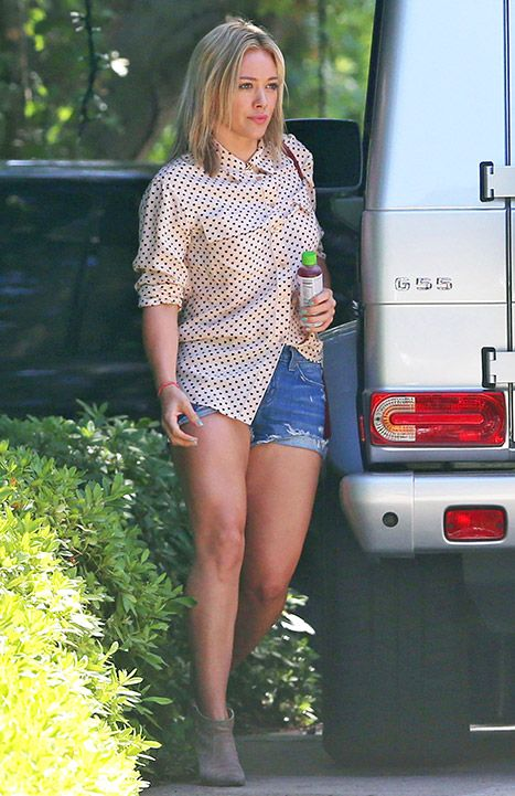 Hilary Duff's Ex Mike Comrie Lost Weight, Looks Hot: Picture - Us Weekly