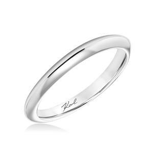 Karl Lagerfeld Diamond Prong Set 18K - White Gold Womens Wedding bands 31-KA100P-L #ArthursJewelers