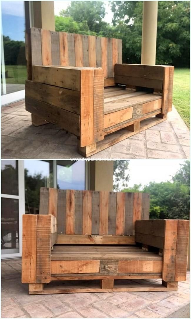 30 Inspiring Diy Pallet Wood Homemade Furniture Plans Pallet Furniture Outdoor Homemade Furniture Woodworking Furniture Plans