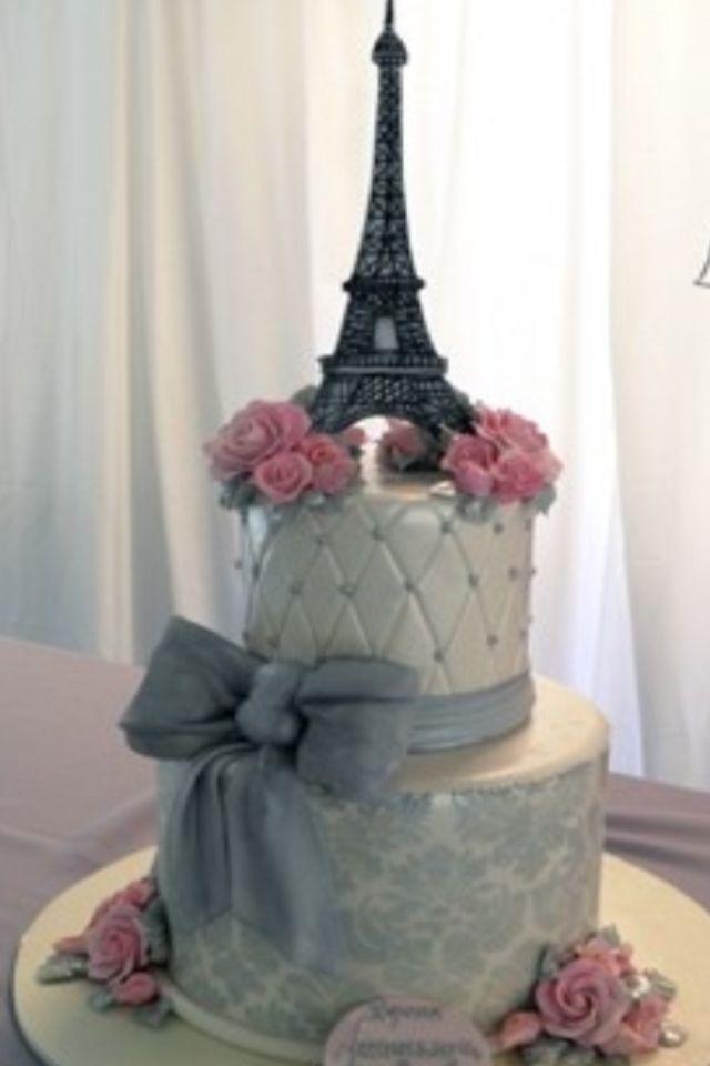 I Need Ideas For Decorating My Living Room: Dream Wedding Cake, Paris Cake
