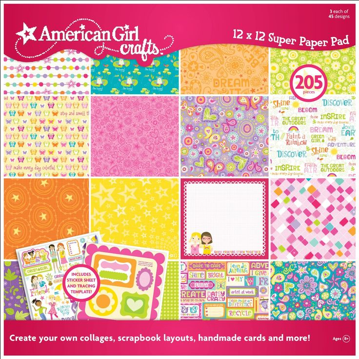 American Girl Learn To Scrapbook Kit 487 pieces, New | eBay