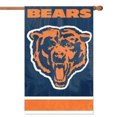 Party Animal Chicago Bears Banner Nfl Flag