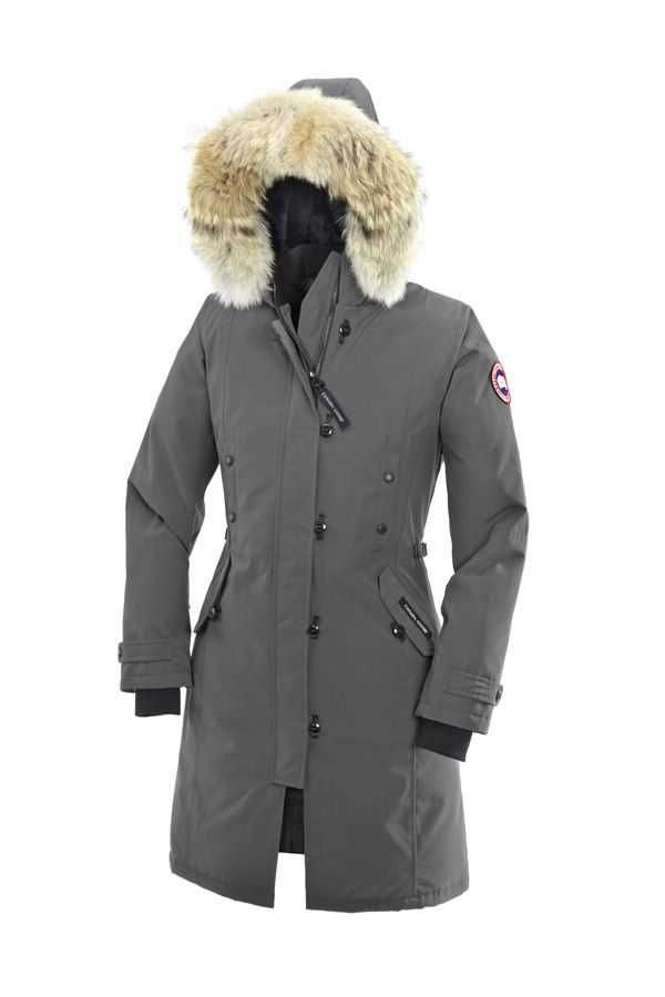 Canada Goose Kensington Parka Mid Grey For Women
