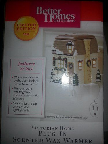 Better Homes and Gardens Limited Edition Victorian Home Plug-in Wax Warmer by Better Homes and Gardens. $28.95