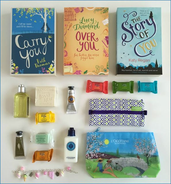Suze likes, loves, finds and dreams: Giveaway: Two L'Occitane Pouches, Three Books & Summer Candy Bracelet