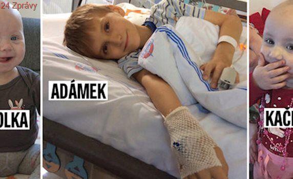 Nemocný Adámek dostal cennou kostní dřeň! Nikolka a Kačenka na dárce stále čekají...