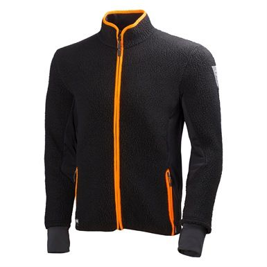 The New Helly Hansen 72270 Mjolnir Fleece Jacket combines Polartec Thermal 300 rough fleece and Polartech Powerstretch, offering you durability, warmth and freedom of movement.