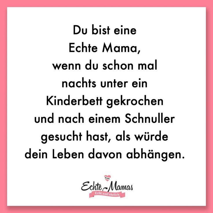 Du bist eine Echte Mama, wenn du schon mal nachts unter ein Kinderbett gekrochen… – Echte Mamas