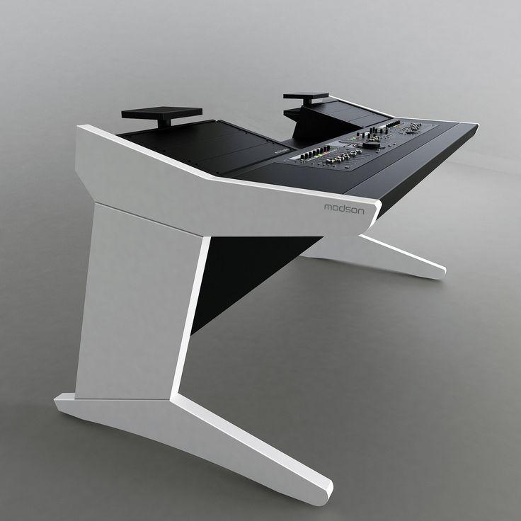 25 best studio desk ideas on pinterest. Black Bedroom Furniture Sets. Home Design Ideas