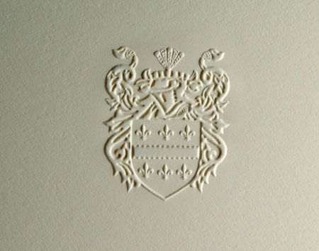 Foil Embossed Business Cards - Sculpted or Single Level Die?
