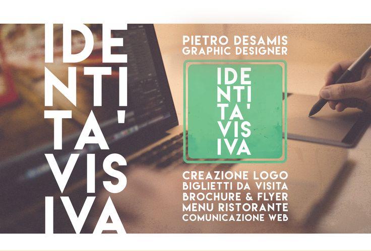IDENTITA' VISIVA è  _ Creazione Logo _ Biglietti da Visita _ Brochure e Flyer _ Menu Ristorante  _ Comunicazione Web