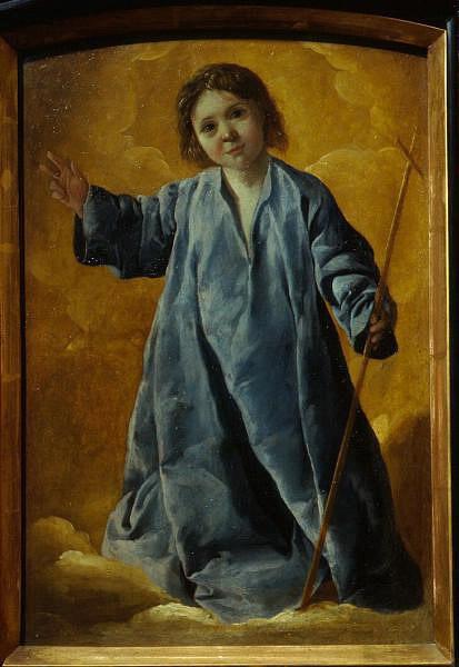 Франсиско де Сурбаран. Младенец Христос Francisco de Zurbaran. Christ Child