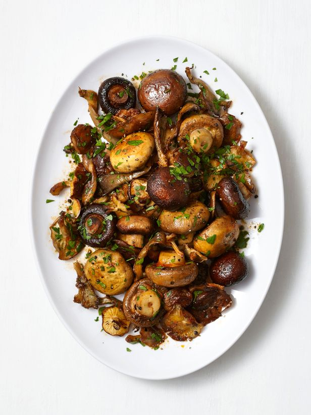 Smoky Roasted Mushrooms Recipe : Food Network Kitchen : Food Network - FoodNetwork.com